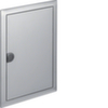 Наружная рамка с дверцей для встраиваемого щитка Volta,2-рядного(VU24AT), нержавеющая cталь